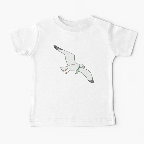 Tie Seagull Baby T-Shirt