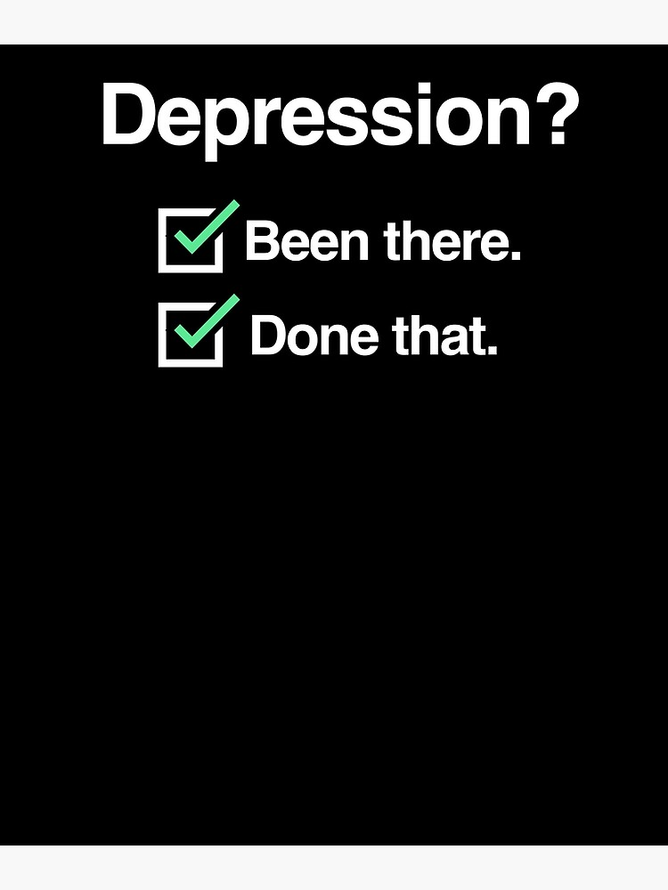 cd4aeb00d3c Checklist - Mental Health Depression Awareness | Poster