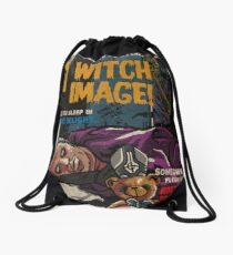 Witch Image - Ghost Comic Series Drawstring Bag