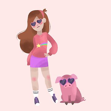 Cool Mabel and Waddles  by MinetteMona