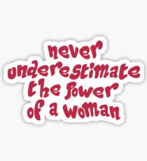 POWER OF WOMAN Sticker