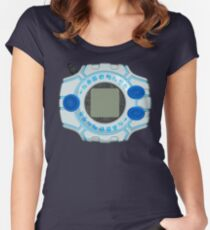 Merficul Digivice Fitted Scoop T-Shirt