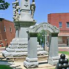 Civil War Memorial/ Mt. Carroll, Illinois by Nadya Johnson