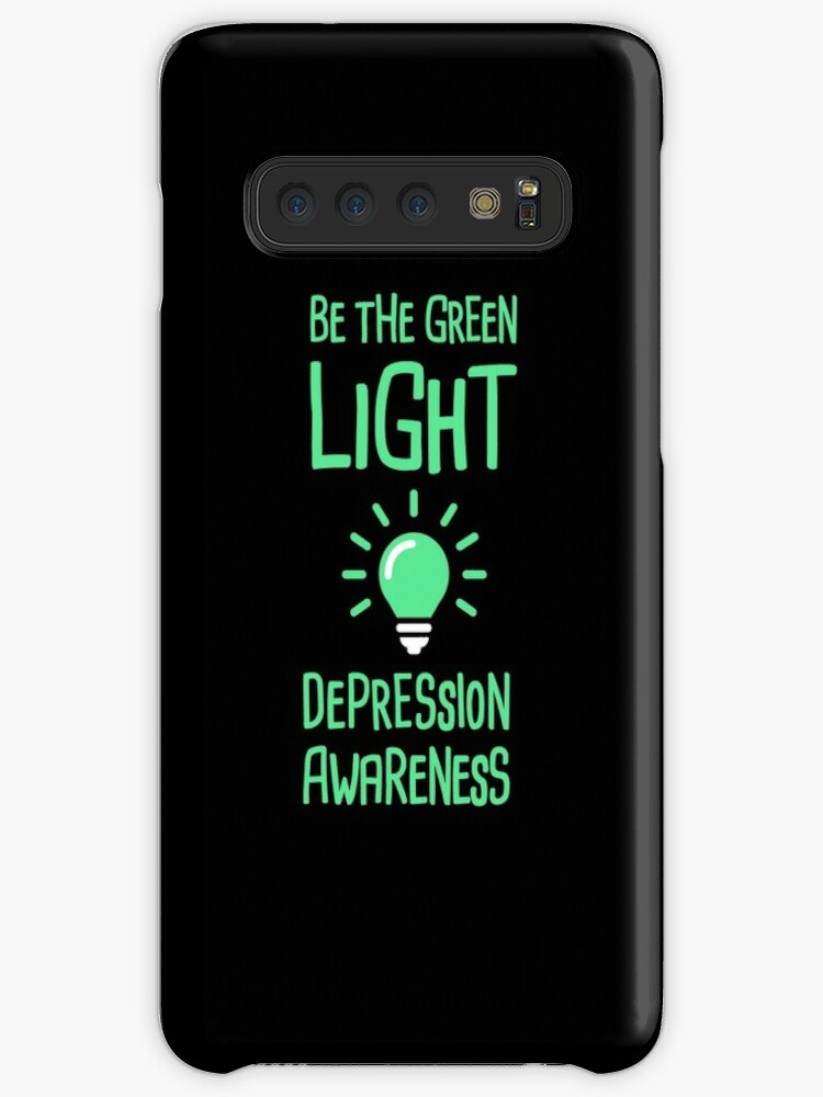 42b85c7e85d 'Light - Mental Health Depression Awareness' Case/Skin for Samsung Galaxy  by EMDdesign