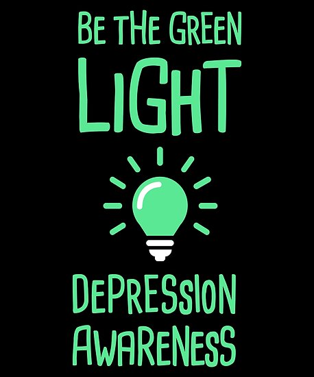 11f896d51c6 'Light - Mental Health Depression Awareness' Poster by EMDdesign