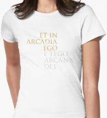 I Tego Arcana Dei Women's Fitted T-Shirt