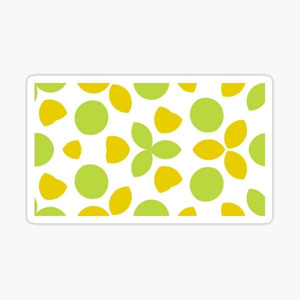 circle round mandala oriental motif seamless colorful repeat pattern Sticker