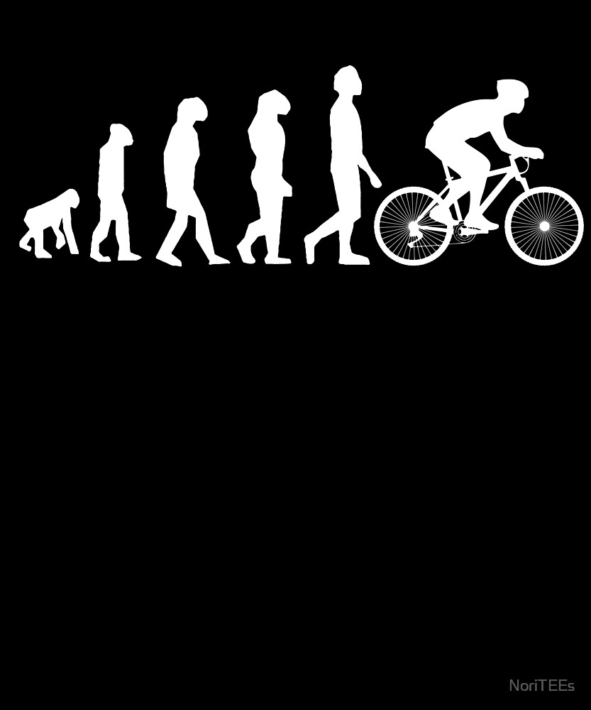 Evolution of Mountainbike fahrrad MTB Shirt\