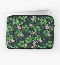 Forest Wildflowers / Dark Background Laptop Sleeve