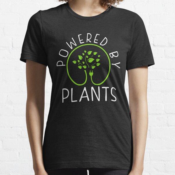 Angetrieben von Pflanzen. Vegane Philosophie Essential T-Shirt