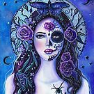 Day of the dead art by Renee L Lavoie Vida y muerte by Renee Lavoie
