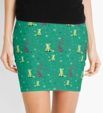 Forest Foxes Mini Skirt