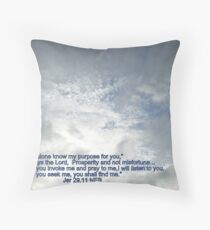 God's Promise to His people Throw Pillow