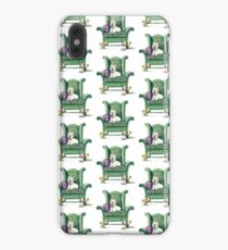 Westie on Topiary Wingback iPhone XS Max Case