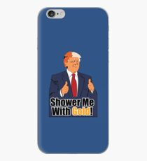 Shower Me With Gold iPhone Case