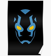 Blue Beetle Mask Poster