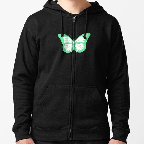 Unisex Youth Baseball Uniform Jacket Ribbon Butterfly Lymphoma Hoodie Sweatshirt Sweater Tee Back Print