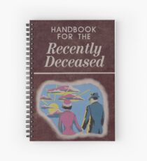 Beetlejuice Handbook For The Recently Deceased  Spiral Notebook