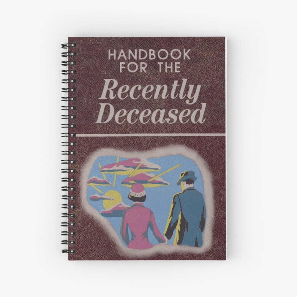 Beetlejuice Handbook For The Recently Deceased  Spiral Notebook