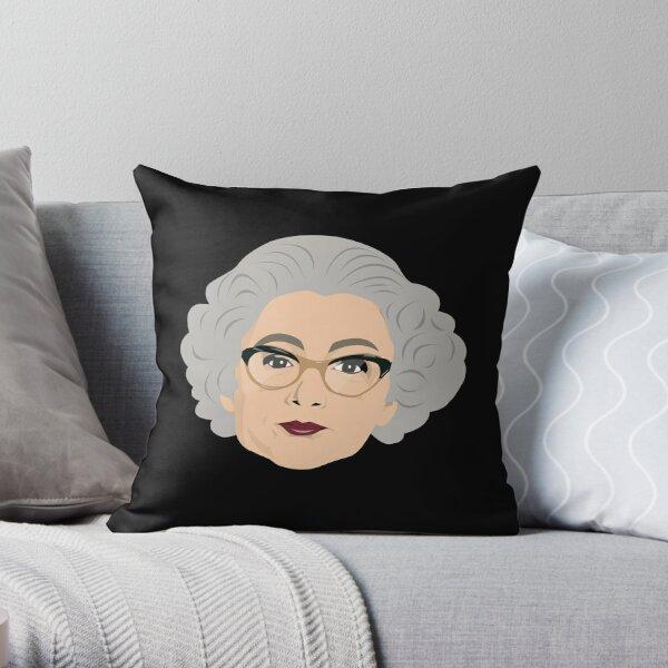 Mrs Merton Throw Pillow
