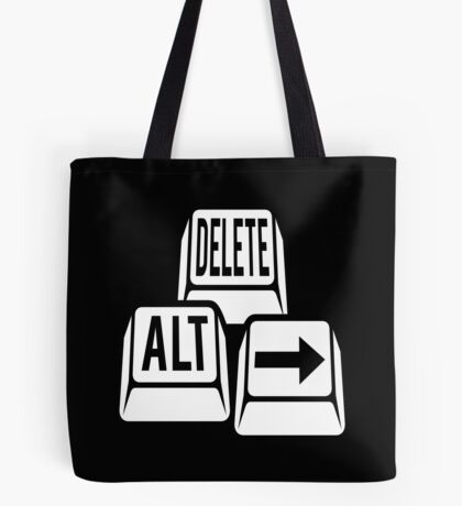 Delete Alt Right Tote Bag