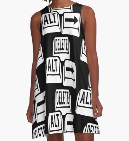 Delete Alt Right A-Line Dress