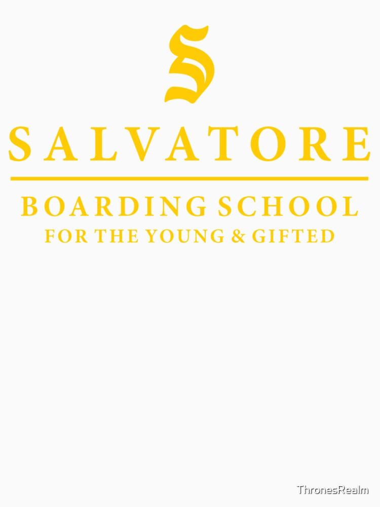 Salvatore Internat - TVD / Originale / Vermächtnisse von ThronesRealm