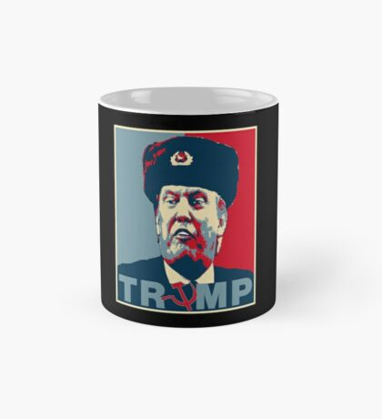 Trump Russia Poster Mug