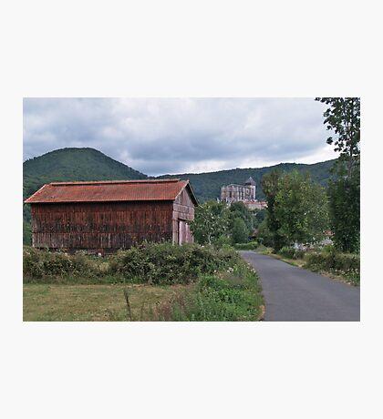 Saint-Bertrand-de-Comminges Photographic Print
