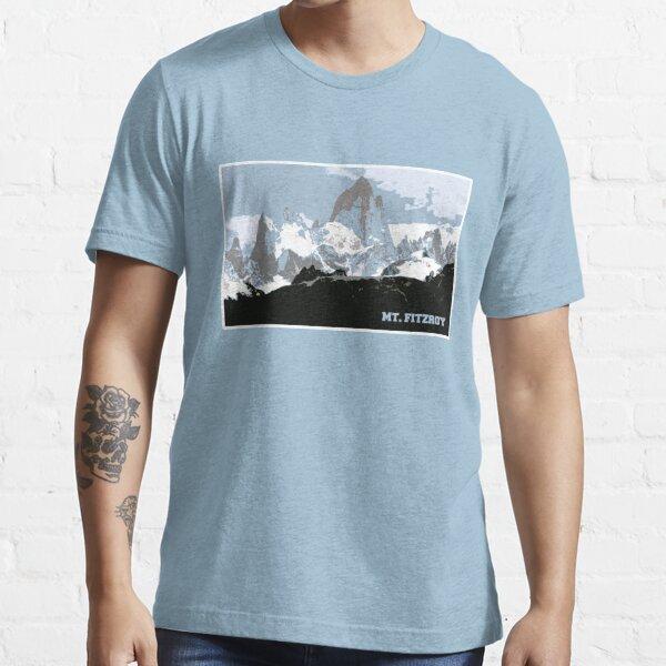 Mount Fitzroy Mountain, Patagonia, Argentina Essential T-Shirt