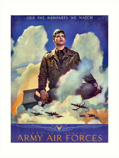 Quot O Er The Ramparts We Watch Ww2 Propaganda Poster