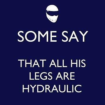 The Stig: Some Say His Legs.... by TARDISRepairman