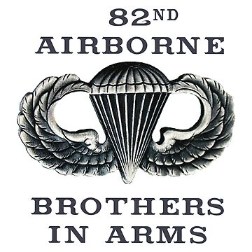 Jump Wings - 82nd Airborne - Brothers in Arms by Buckwhite