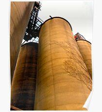 Grain Elevators Poster