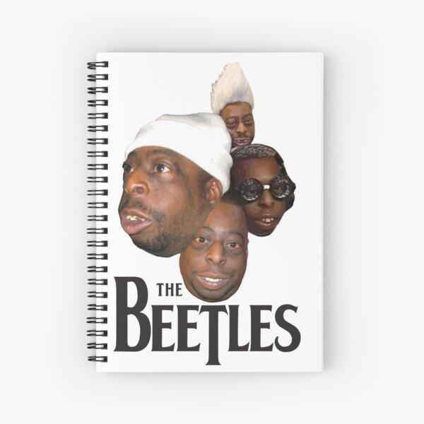 the beetles Spiral Notebook