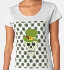 St Paddys Skull Women's Premium T-Shirt