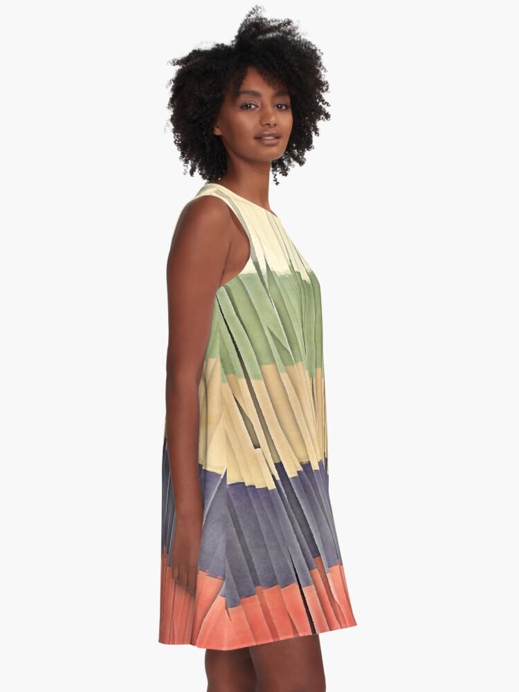 Alternate view of Shreds of Summer A-Line Dress