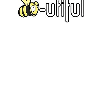 Bee-utiful Bee Shirt Beautiful Women or Kids T-Shirt by Archpress