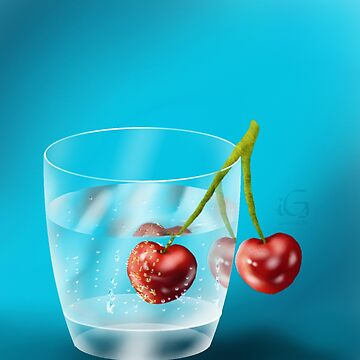 Cherries in water by thebigG2005