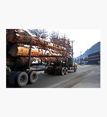 Americana • Timber 'jinker' truck, Orofino Idaho Photographic Print