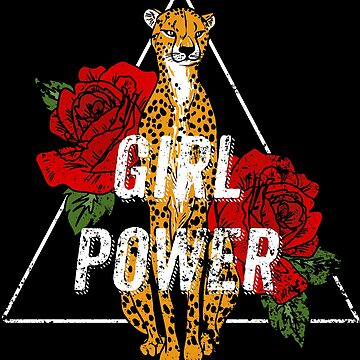 Girl Power - Be A Leopard by Fabshop