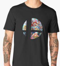 Super Smash Bros Ultimate (Simplistic - Logo) [Nintendo] Men's Premium T-Shirt
