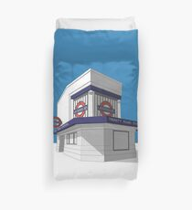Trinity Road (Tooting Bec) Duvet Cover