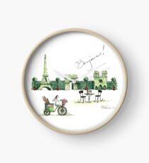 Paris Hedge Clock