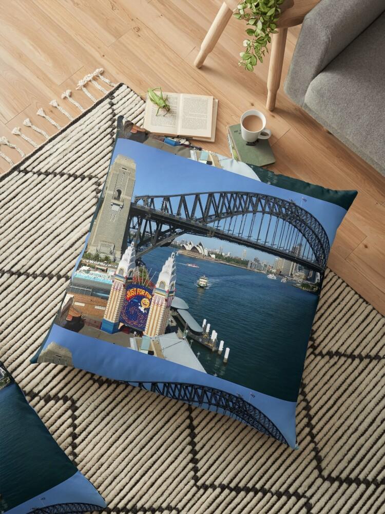 Sydney Harbour, from Luna Park by John Douglas
