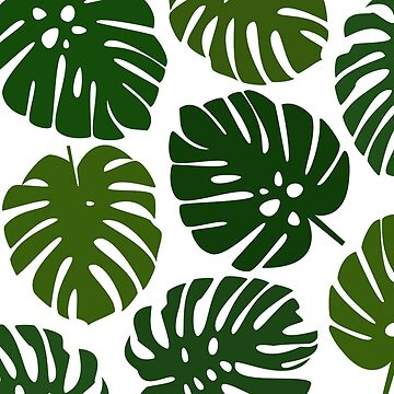 Monstera Tile by oison75