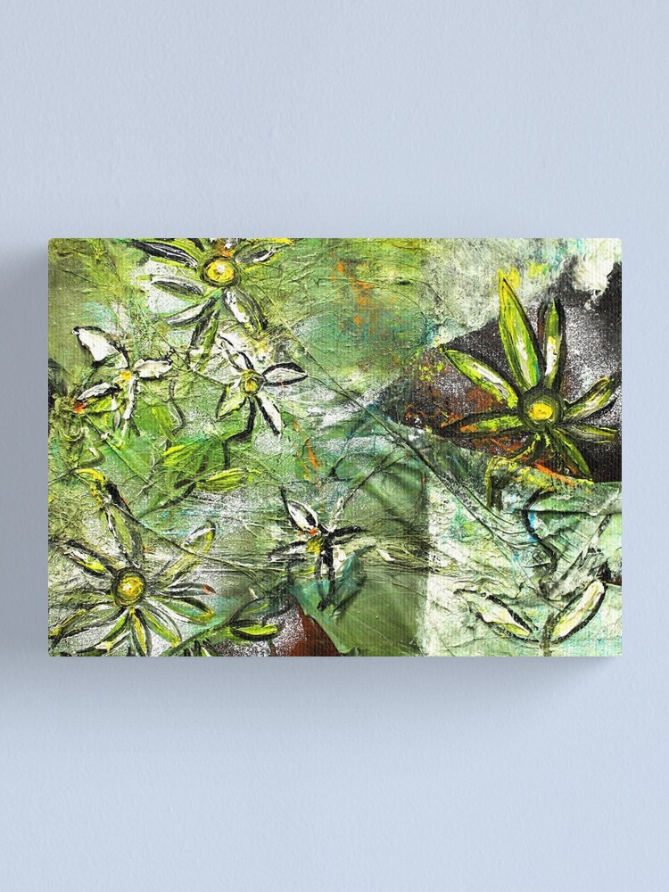 Alternate view of Blooming motions II Canvas Print