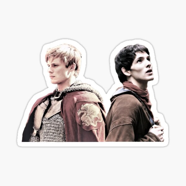 Merlin And Arthur Sticker