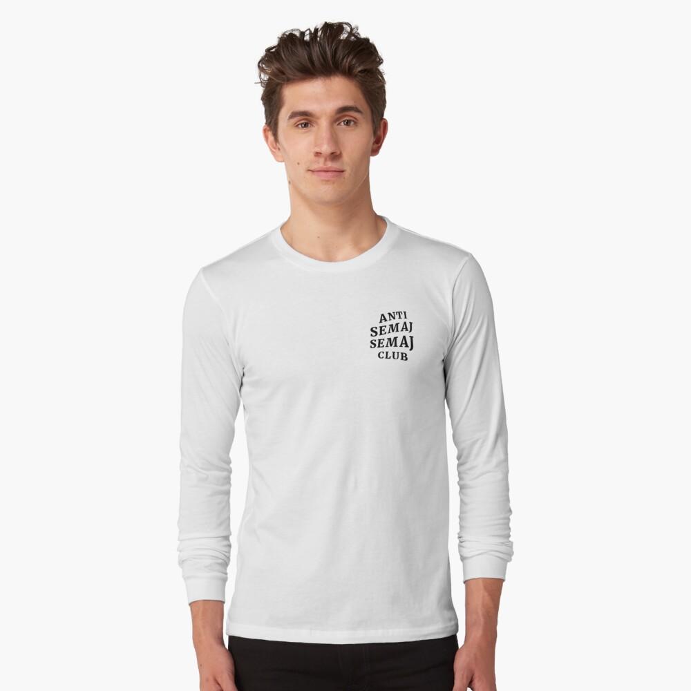 Anti Semaj Semaj Club (Light Colours) Long Sleeve T-Shirt Front