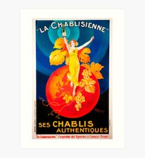 Vintage poster - La Chablisienne Art Print